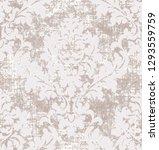 rococo texture pattern vector.... | Shutterstock .eps vector #1293559759