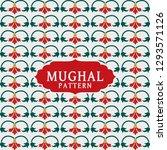 mughal design patterns vector...   Shutterstock .eps vector #1293571126