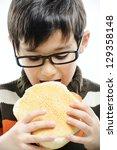 Kid Eating Bread