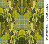 quirky tapestry pattern.... | Shutterstock .eps vector #1293583339