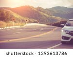 close up car on the road honda... | Shutterstock . vector #1293613786