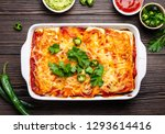 traditional mexican dish... | Shutterstock . vector #1293614416