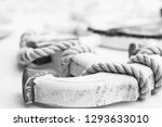 Wooden Anchor And Rope Table...