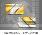 vector abstract creative... | Shutterstock .eps vector #129364598