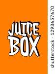 juice box background | Shutterstock . vector #1293657670