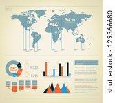 detail infographic vector.... | Shutterstock .eps vector #129366680