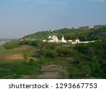 beautiful scenery. green... | Shutterstock . vector #1293667753