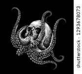skull vector design | Shutterstock .eps vector #1293678073
