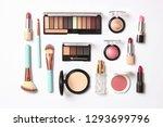 professional makeup tools.... | Shutterstock . vector #1293699796