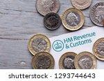 london  uk   jan 24th 2019 ... | Shutterstock . vector #1293744643