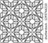braided intricate vector... | Shutterstock .eps vector #1293766210