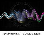 equalizer illustration.... | Shutterstock . vector #1293775336