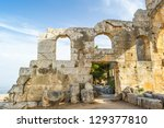 Ruins Of The Ancient Castle Of...