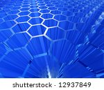 cell abstract background - stock photo