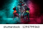 hookah on the background of old ... | Shutterstock . vector #1293799363