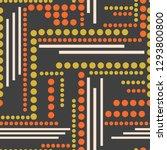 trendy colorful geometric... | Shutterstock .eps vector #1293800800