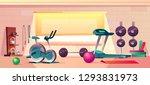 vector cartoon background of... | Shutterstock .eps vector #1293831973