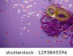 Mask  Beads And Confetti...