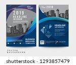 business brochure flyer design... | Shutterstock .eps vector #1293857479