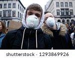 brussels  belgium. 24th january ...   Shutterstock . vector #1293869926