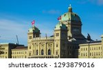 federal palace of switzerland ... | Shutterstock . vector #1293879016
