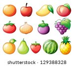 illustration of the diffrent... | Shutterstock .eps vector #129388328