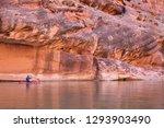 Kayaker On The San Juan River...