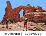 utah usa   may 07  teenager... | Shutterstock . vector #129390719
