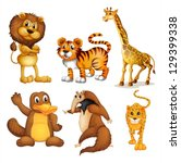 illustration of the different... | Shutterstock .eps vector #129399338