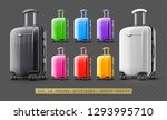 set of colorful modern... | Shutterstock .eps vector #1293995710