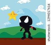 video games design | Shutterstock .eps vector #1294017616