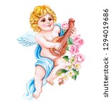 Angel With A Musical Instrument ...