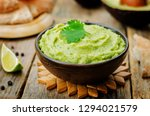Avocado Hummus With Pita And...
