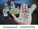beautiful  bright tumbled... | Shutterstock . vector #1294031956