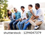 people  friendship and... | Shutterstock . vector #1294047379