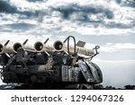 launcher of the self propelled... | Shutterstock . vector #1294067326