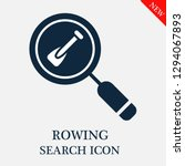 rowing search icon. editable... | Shutterstock .eps vector #1294067893