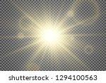 special lens flash  light... | Shutterstock .eps vector #1294100563