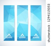 vector design template set of... | Shutterstock .eps vector #1294115053
