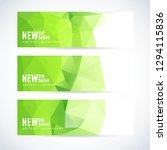 vector design template set of... | Shutterstock .eps vector #1294115836