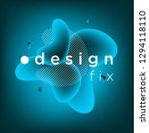 abstract background  gradient... | Shutterstock .eps vector #1294118110