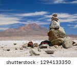 the incredible salt flat of... | Shutterstock . vector #1294133350