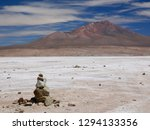 the incredible salt flat of... | Shutterstock . vector #1294133356