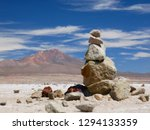 the incredible salt flat of... | Shutterstock . vector #1294133359
