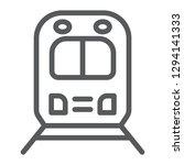 rail road trip line icon ... | Shutterstock .eps vector #1294141333