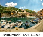 vernazza   la spezia   italy  ... | Shutterstock . vector #1294160650