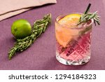alcoholic drink at the bar | Shutterstock . vector #1294184323