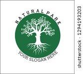 logo for nature park | Shutterstock .eps vector #1294193203