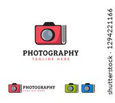 photo book album logo designs... | Shutterstock .eps vector #1294221166