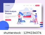 landing page data analysis... | Shutterstock .eps vector #1294236376